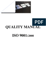 ISO 9001 Quality Manual - Kraft.