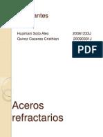 Aceros refractarios