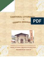 Cantoral Litúrgico - TIEMPO ORDINARIO - www.pjcweb.org