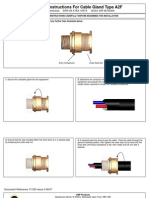 Cable Gland - Instruction