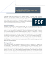 Youth Health Assessment 2012 Executive Summary