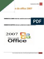 Instalacion de Office 2007