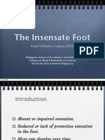 The Insensate Foot