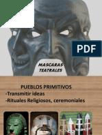 MASCARAS TEATRALES