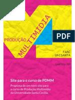 Site de PDMM - TFC 2012