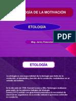 SEXTA CLASE - ETOLOGÍA CLÁSICA