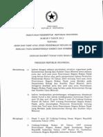 Peraturan Pemerintah No 9 2012