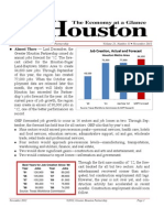 Houston Economy at a Glance Nov- 2012