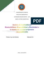 Trabajo de Gerencia 4 Confiabilidad, Mantenibilidad, Disponibilidad, Efectividad Dd