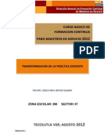 CURSO BASICO FORMACION CONTINUA 2012
