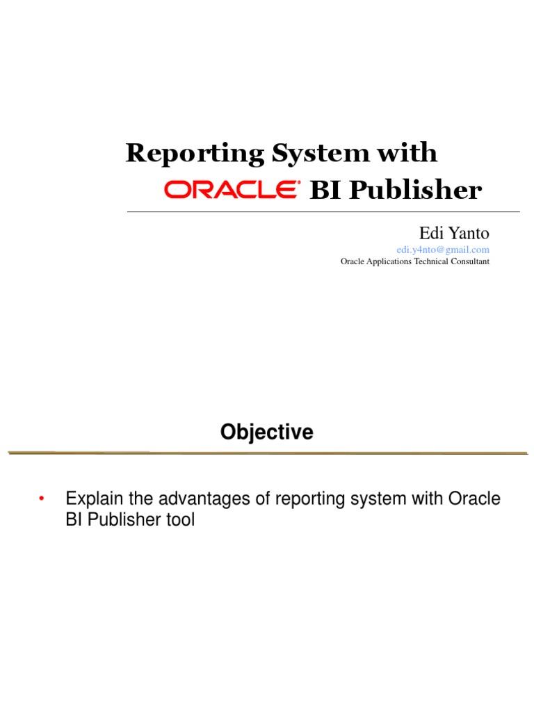 Oracle bi publisher microsoft word technology baditri Images