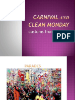carnival and clean Monday