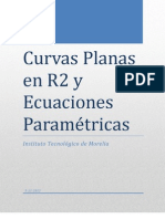 Curvas Plana en r2 y Ecuaciones Parametricas