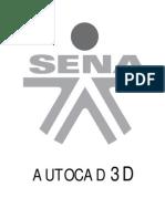 AUTOCAD 3D SENA, INFORMACIÓN TOTAL