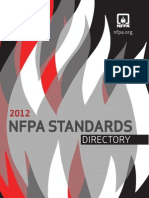 NFPA Standards Directory 2012