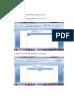 Tutorial Letak Tulisan PDF
