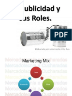 La Publicidad y Sus Roles