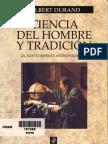 Ciencia del hombre y tradición. Gilbert Durand