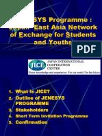 JENESYS Introduction India