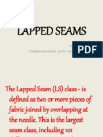 Lapped Seams