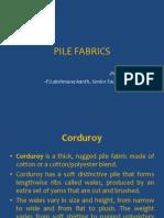 Pile Fabrics - Fs