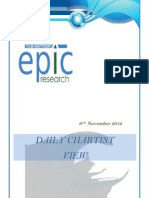 DAILY SPECIAL REPORT BY EPIC RESEARCH- 9 NOVEMBER 2012