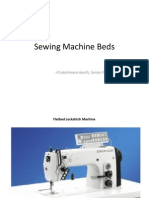 Sewing Machine Beds