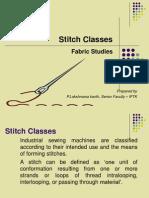 Stitch Classes