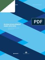 Russia Development Index 2011-2012 (Valdai Index), English version