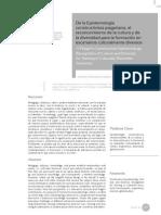 De la Epistemología constructivista piagetiana, el reconocimiento de la cultura y de la diversidad para la formación en escenarios culturalmente diversos