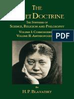 The Secret Doctrine_ Vols. I & II - H. P. Blavatsky