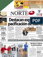 Periodico Norte de Ciudad Juárez 9 de Noviembre de 2012