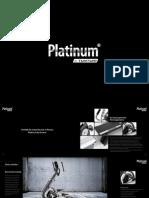 Platinum by Tunturi commercial fitness equipment brochure