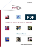 Community Physical Activity Planning