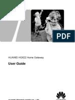HUAWEI HG622 Home Gateway User Guide