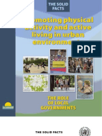 Promoting Physical Activity in Urban Environments