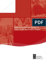 State of the Evidence Review on Urban Health and Healthy Weights