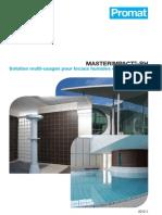 MASTERIMPACT-RH - Plafonds et cloisons pour locaux très humides EB+ collectifs et EC