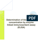 Determination of Blood Insulin Concentration by Enzyme Linked
