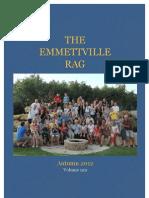 Emmettville Rag Oct 12