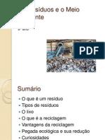 Os Resíduos e o Meio Ambiente_final