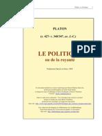 Platon Le Politique