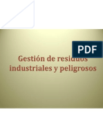Residuos Industriales y Peligrosos