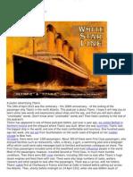 Listen to English Titanic