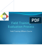 PNP.field Training Evaluation Process