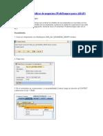 ALV tabla con gráficos de negocios Web Dynpro Abap