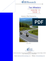 CARE Industry Risk Evaluation - Two Wheelers