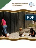 Directorio Programas Migrantes 2012