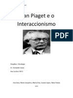 Piaget e o Interaccionismo Final[1]