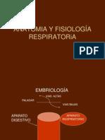 ANATOMIA Y FISIOLOGÍA RESPIRATORIA